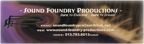 Sound Foundry Productions - logo